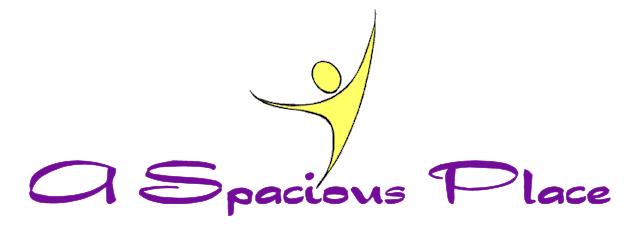 A Spacious Place, Inc. logo, the Spacious Dude